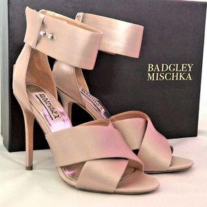 Badgley Mischka Satin sandals